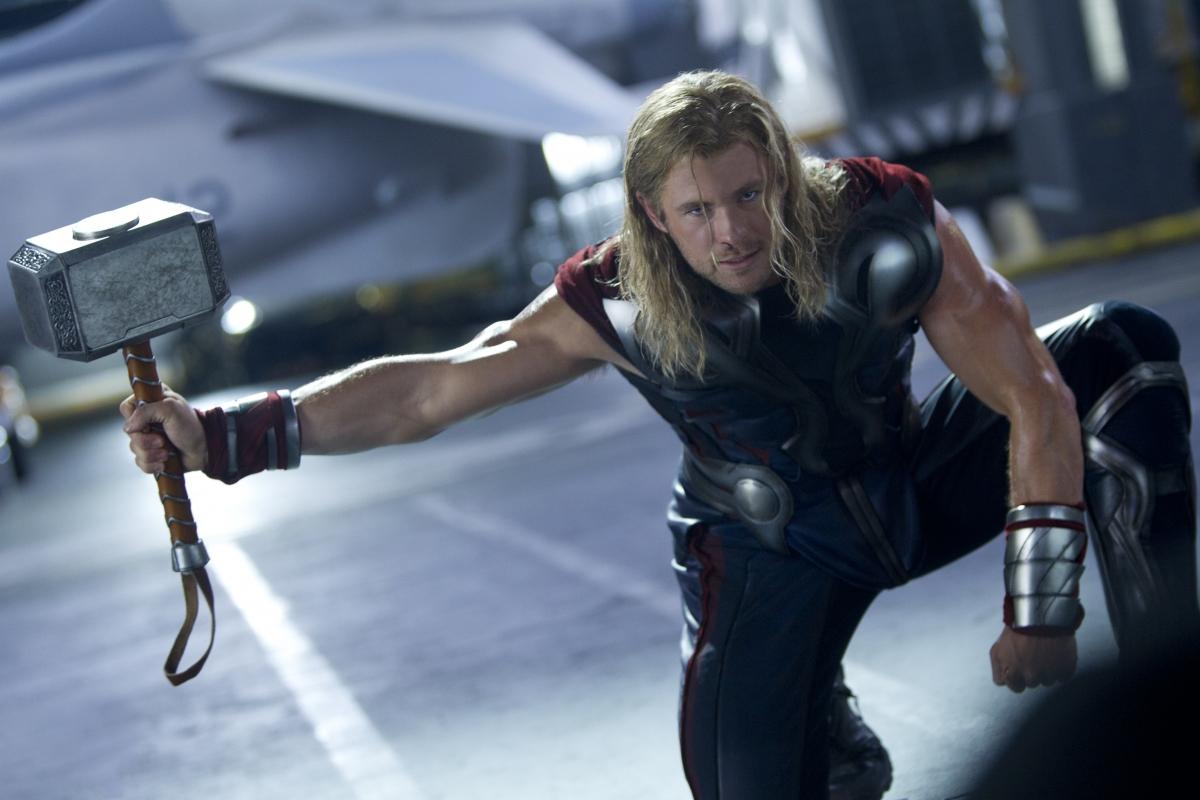 Thor and his hammer Mjölnir