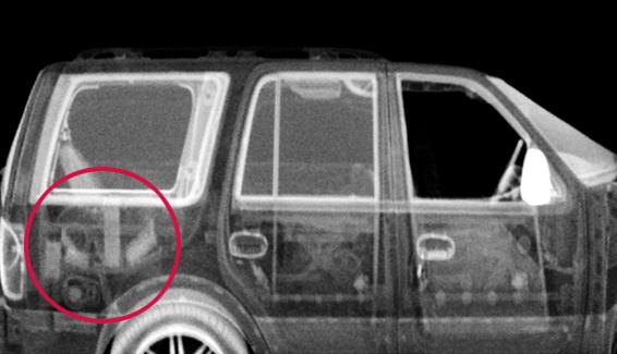 NYPD x-ray Z Backscatter Van