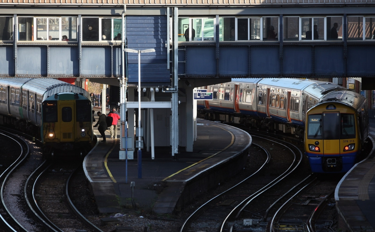 Clapham Junction train station