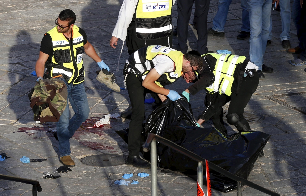 Palestinian Jerusalem shot dead