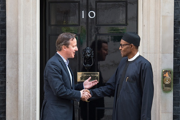 Muhammadu Bhari and David Cameron