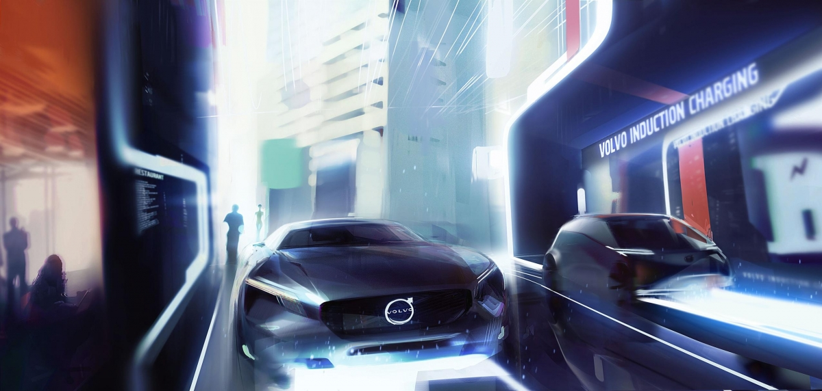 Volvo electric car of the future