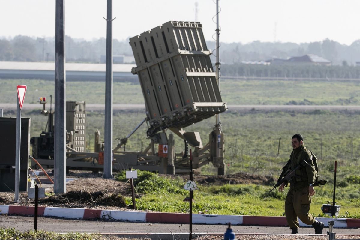 Israel's Iron Dome rocket system