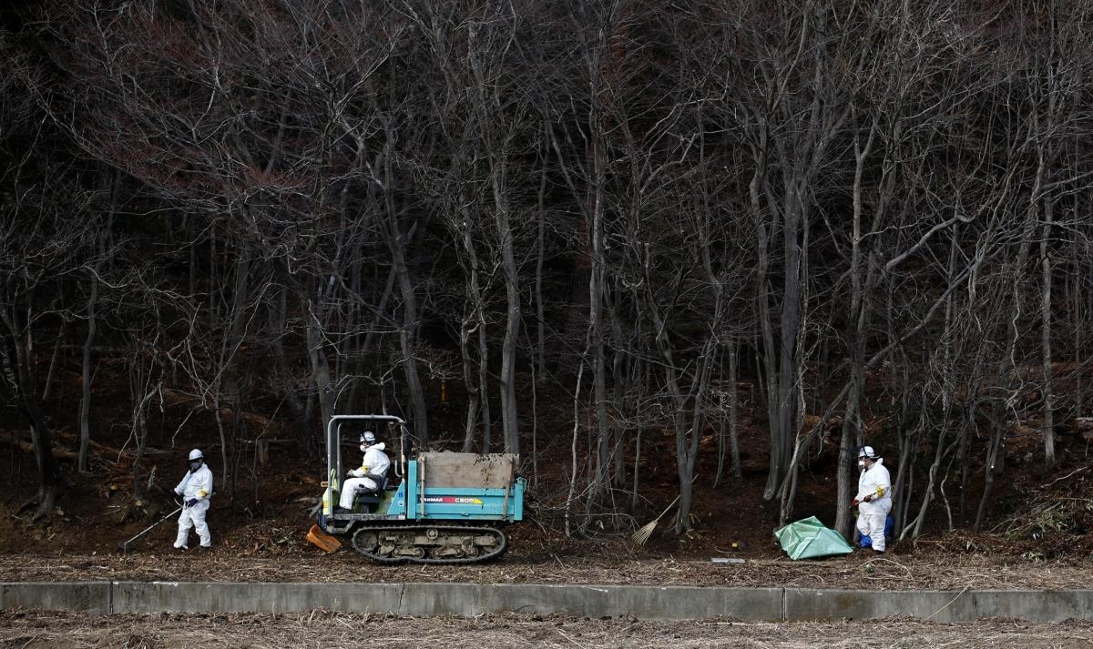 Fukushima nuclear disaster radioactive Japan
