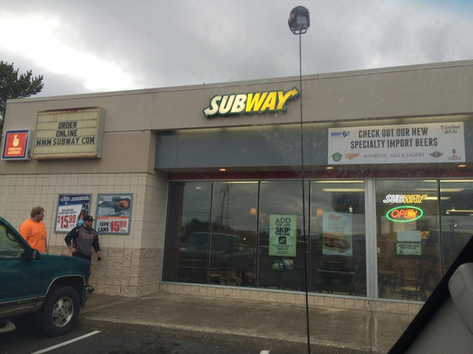 Subway: Lincoln City, Oregon