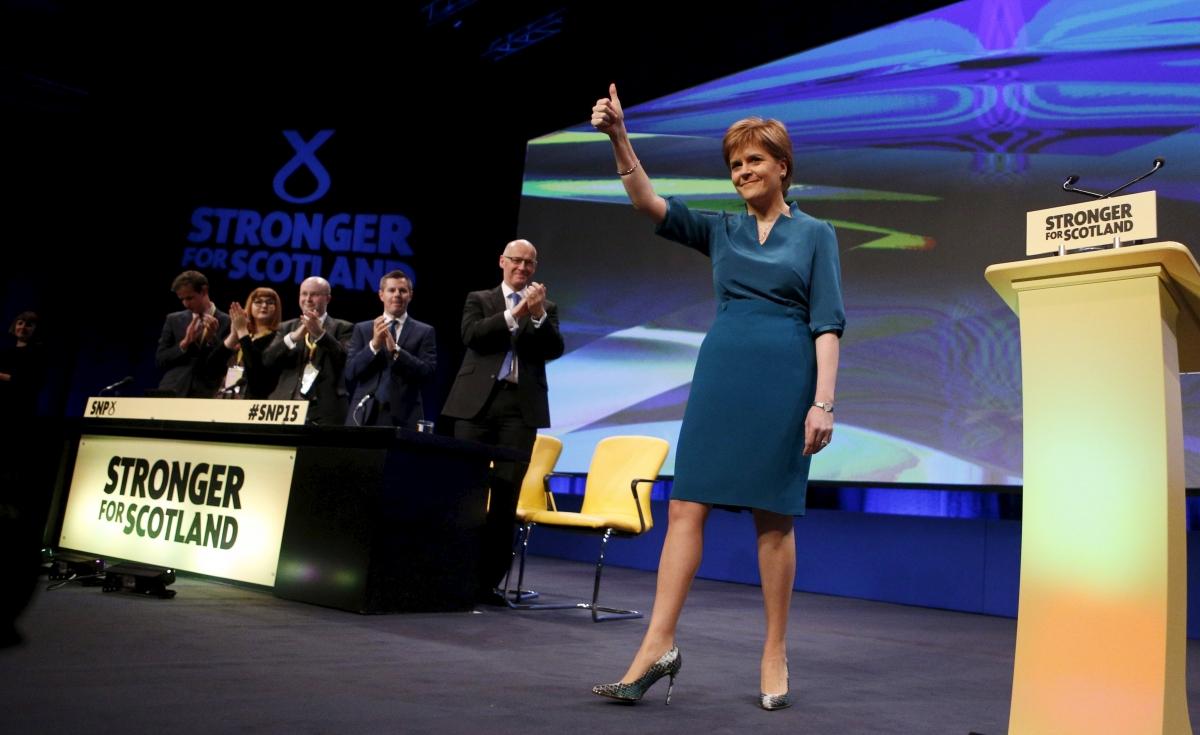 Nicola Sturgeon SNP15