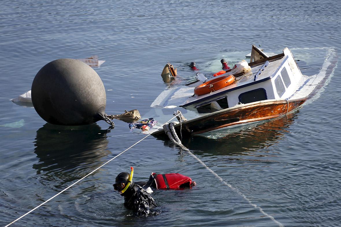 Lesbos boat