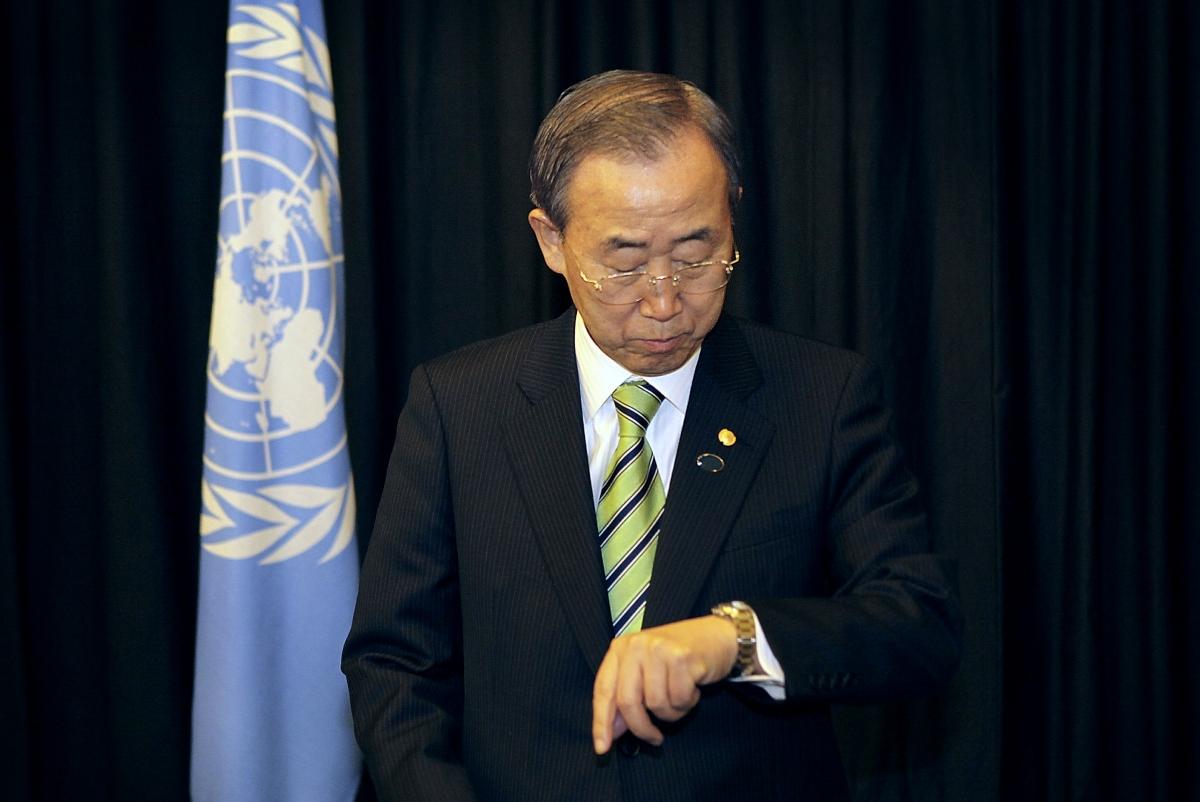 Ban Ki Moon Copenhagen 2009