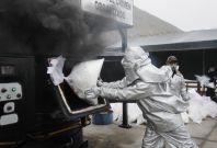 Peru: Authorities burn 2 tonnes of cocaine