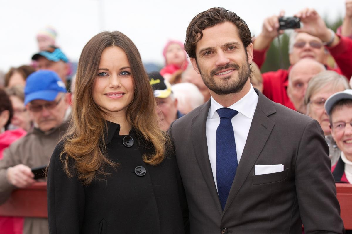 Prince Carl Philip and Princess Sofia