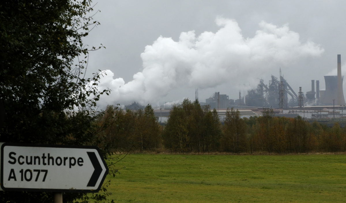 UK's Scunthorpe steel plant owned by Tata Steel could see upto 1000 job redundancies