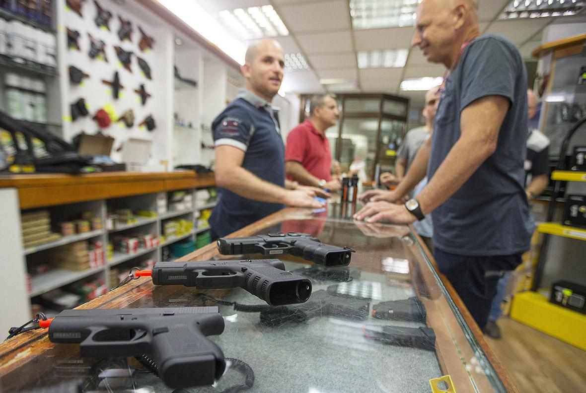 Israel guns