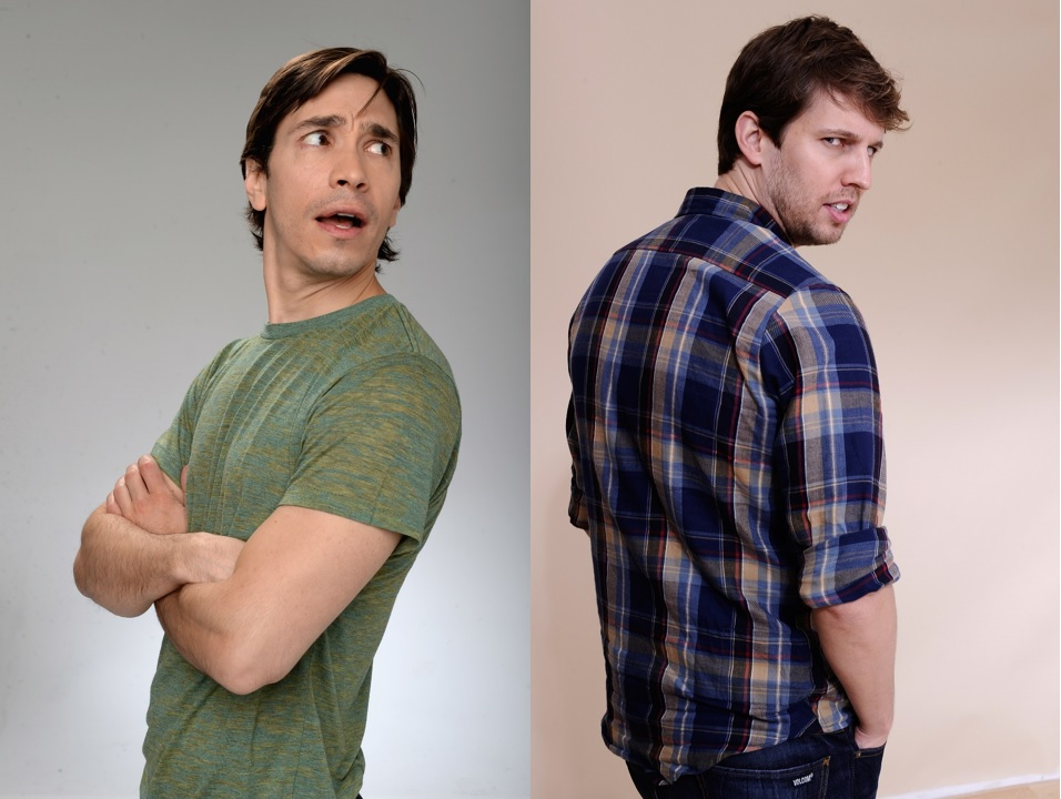 Justin Long and Jon Heder
