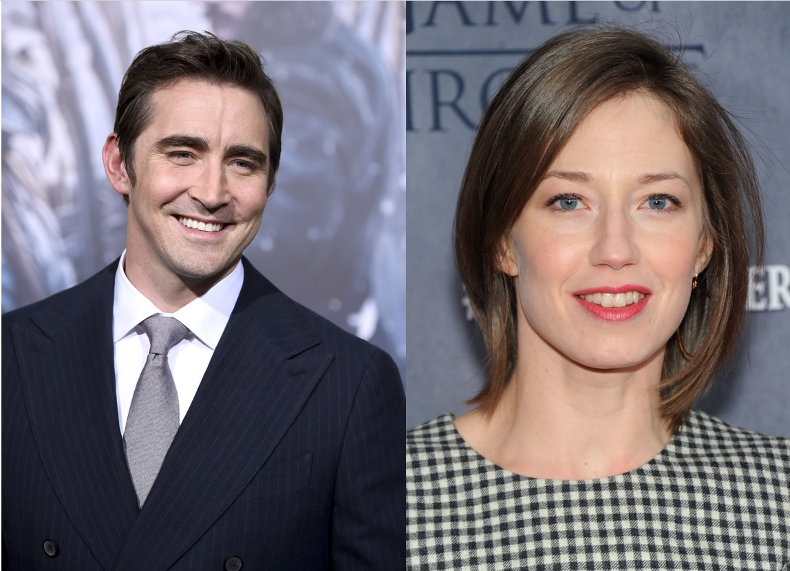 Lee Pace and Carrie Coon