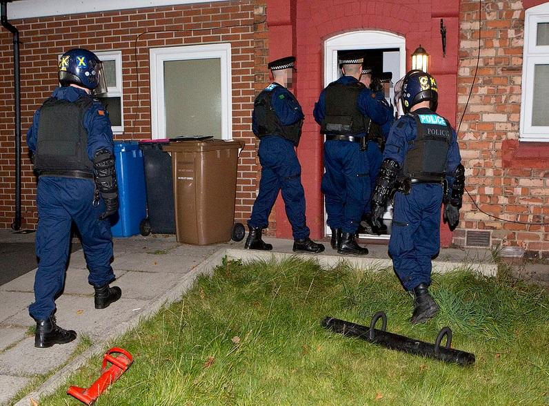 Salford gang raid