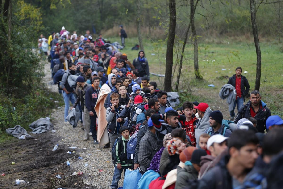 EU migrant crisis Hungary Croatia