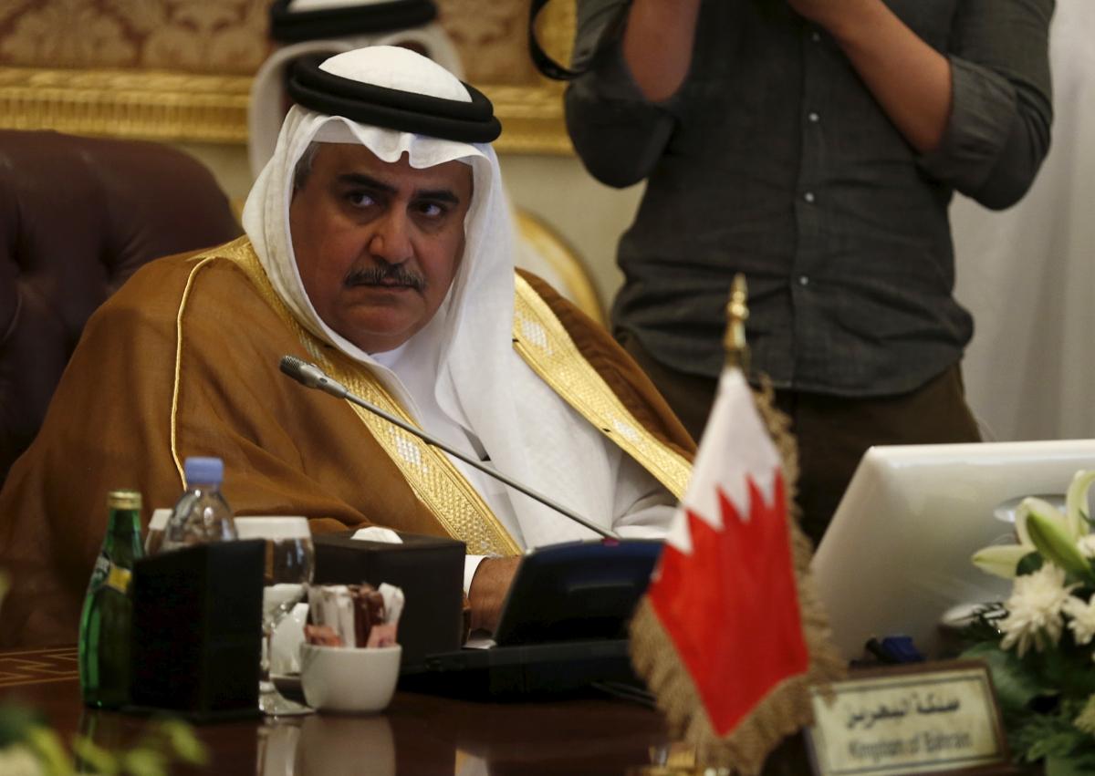 Bahrain Foreign Minister Khaled bin Ahmed
