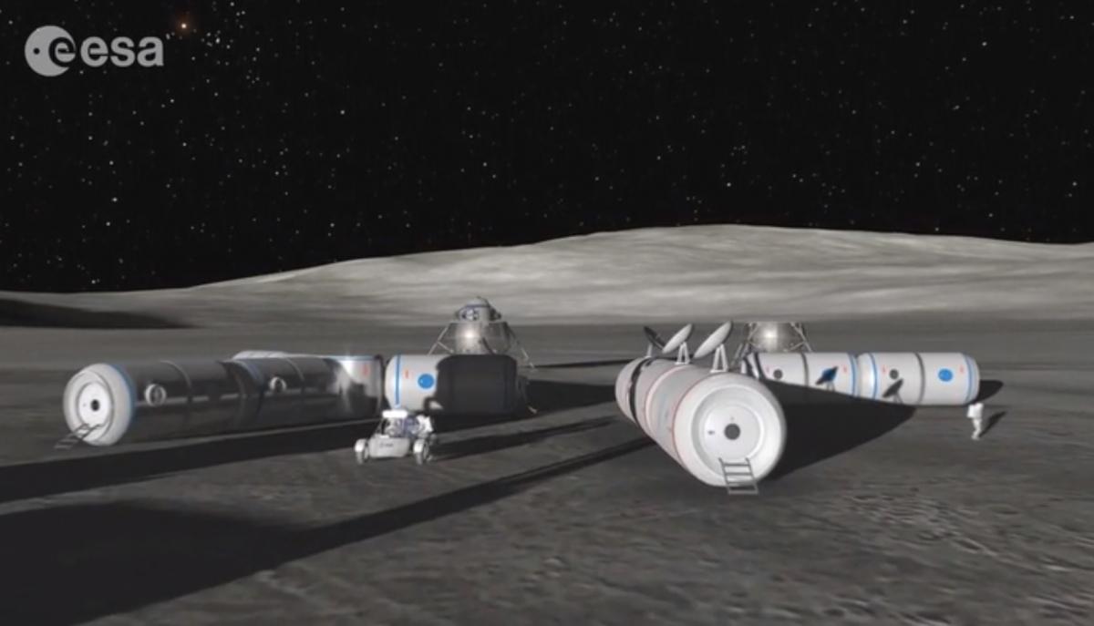 moon base ESA