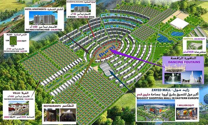Buroj Property Development to build $5.1bn city in Bosnia