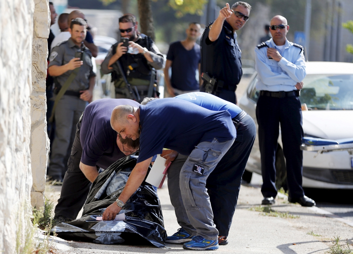 palestinian man shot dead