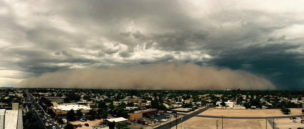 Arizona sand storm