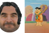Police E-fit/Fred Flintstone