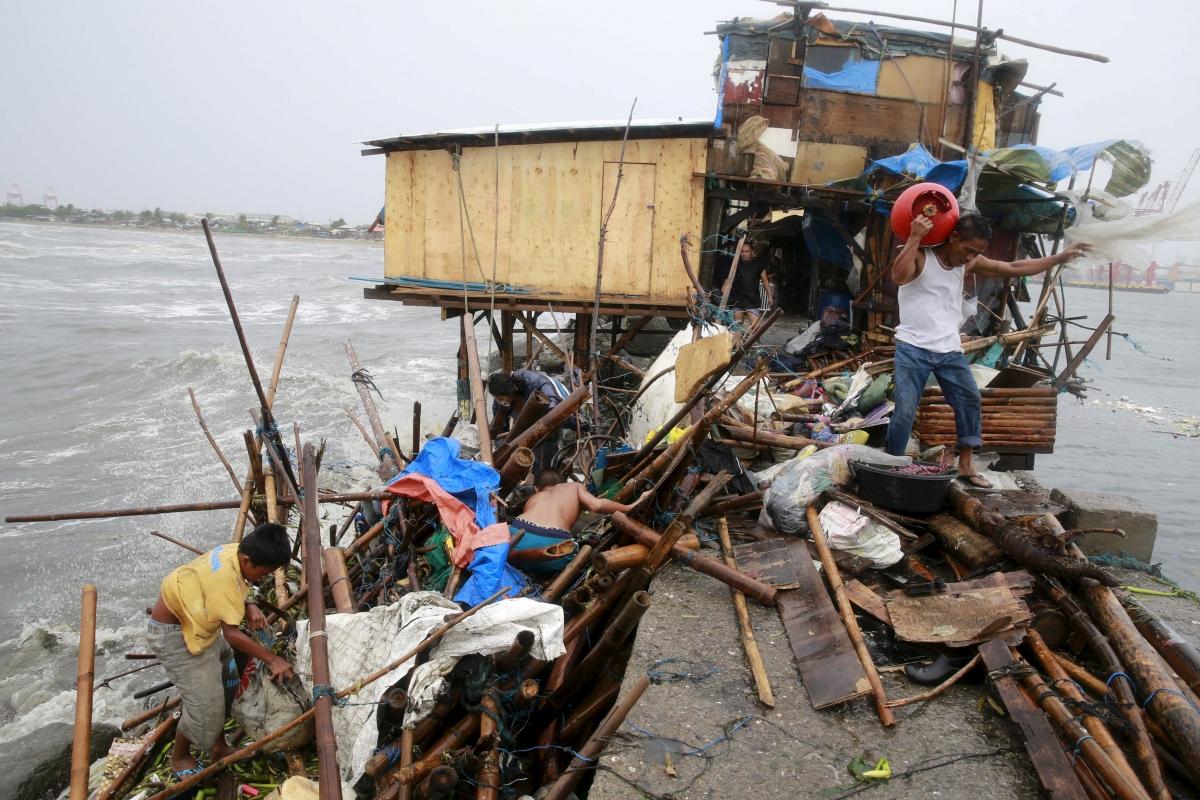 Philippines Typhoon Koppu