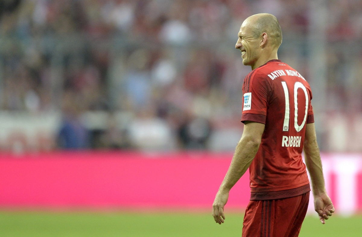 arsenal v bayern munich arjen robben warns he is in 39 perfect condition 39 for champions league clash. Black Bedroom Furniture Sets. Home Design Ideas