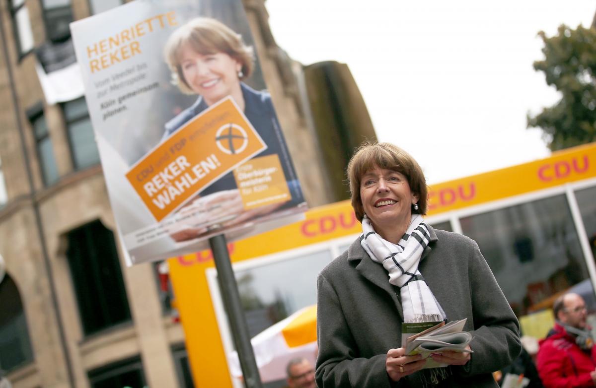German politician Henriette Reker
