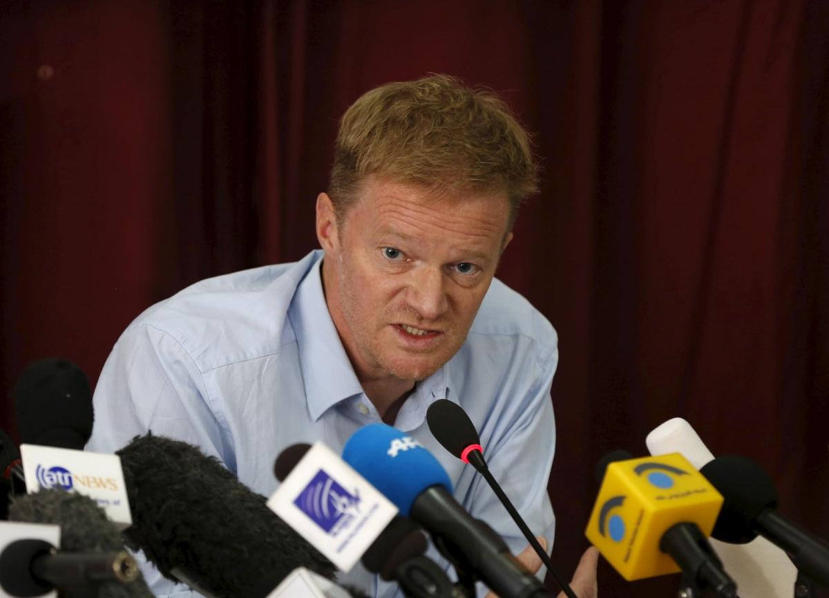 MSF Christopher Stokes speaks of Kunduz bombing