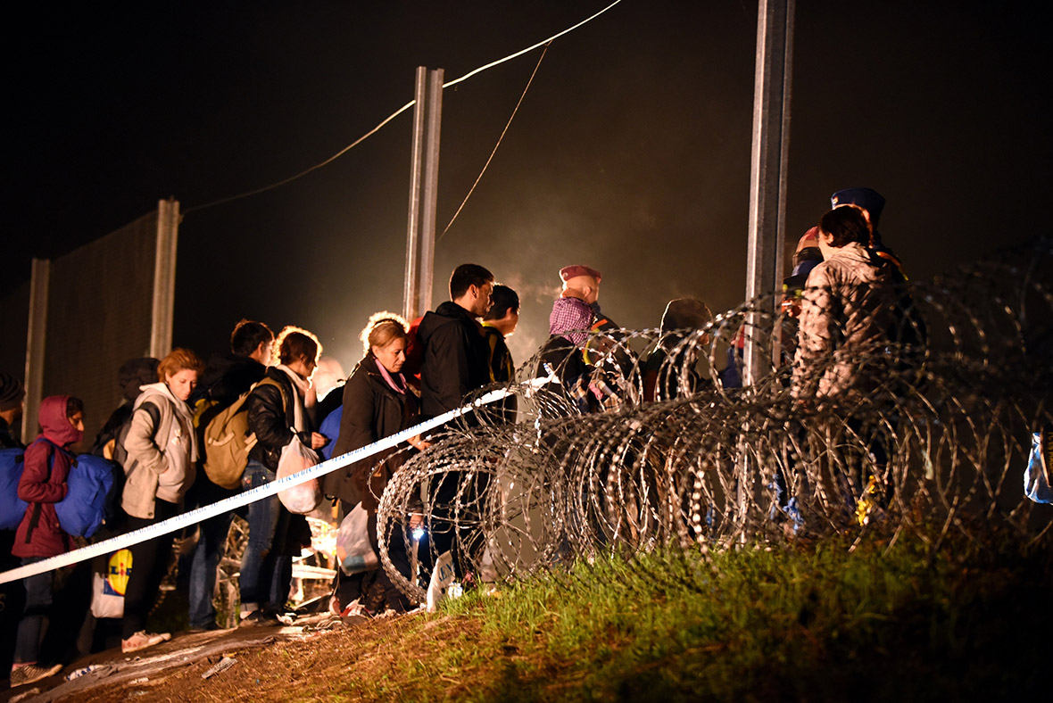 Migrants Hungary Slovenia