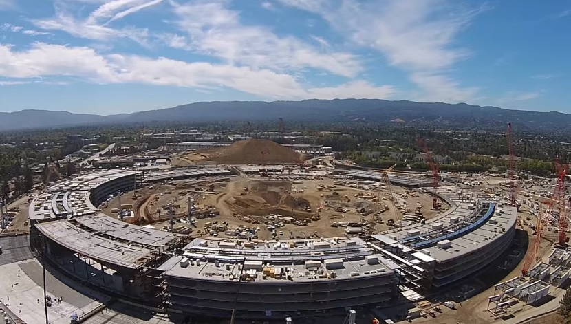 Apple Campus 2: New drone video shows progress of