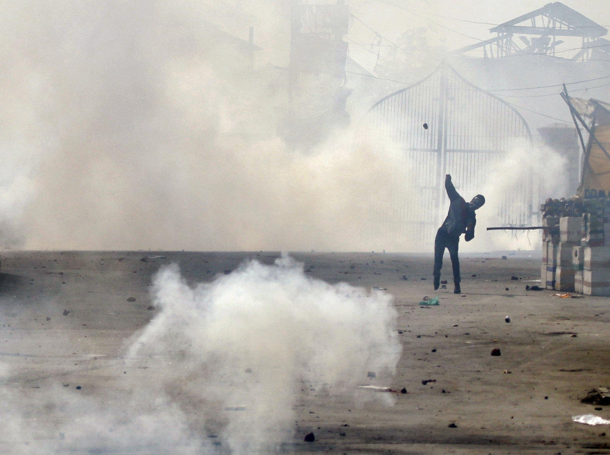 Kashmir protests beef death