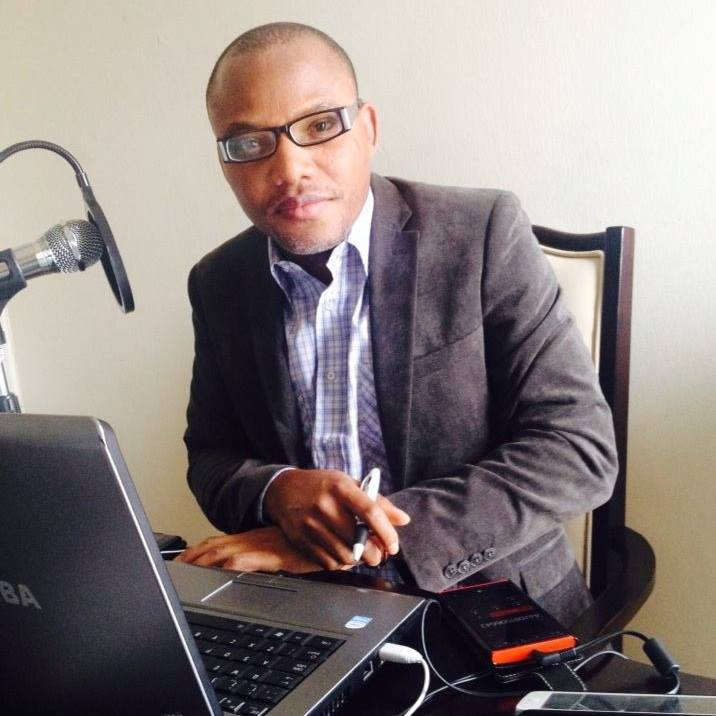 Nnamdi Kanu arrested in Lagos