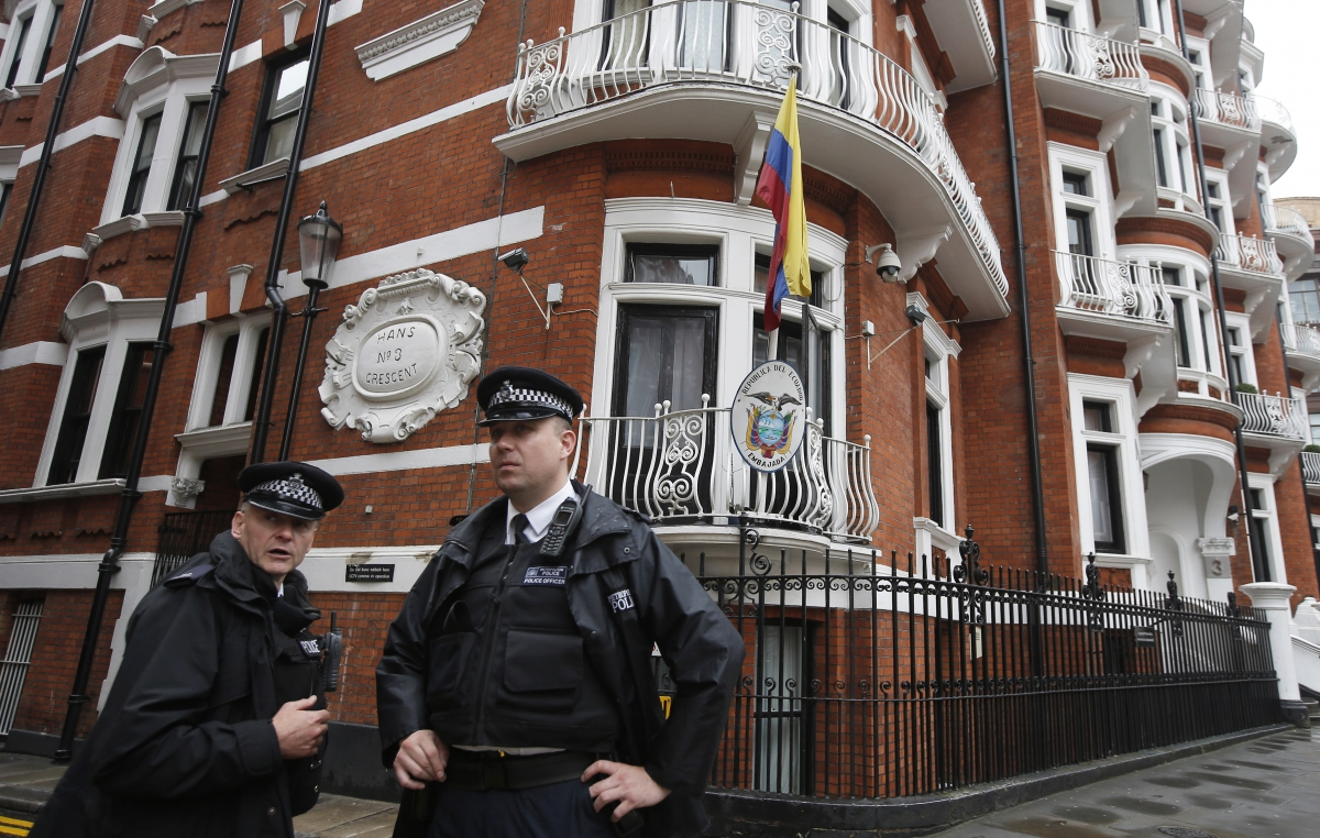 Julian Assange and the embassy