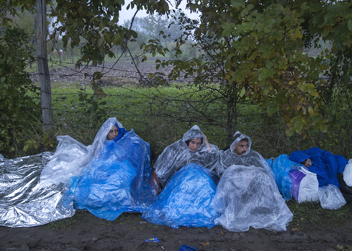 Migrants Serbia Croatia