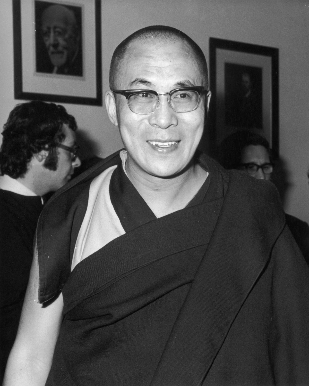 Dalai Lama in 1973