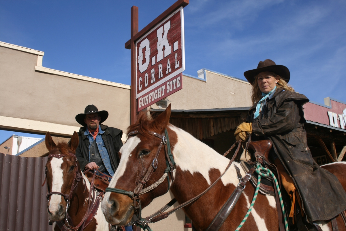 Cowboys Tombstone Arizona