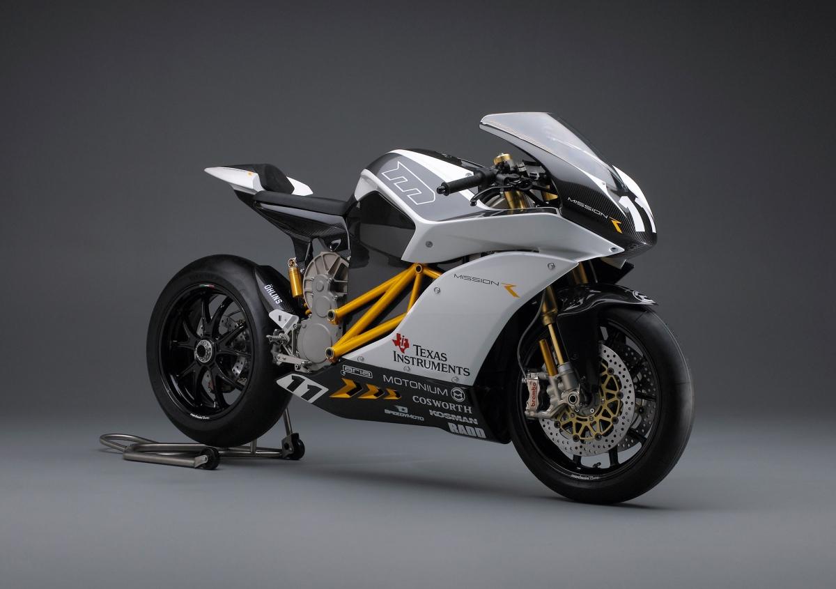 Mission Motors electric bike