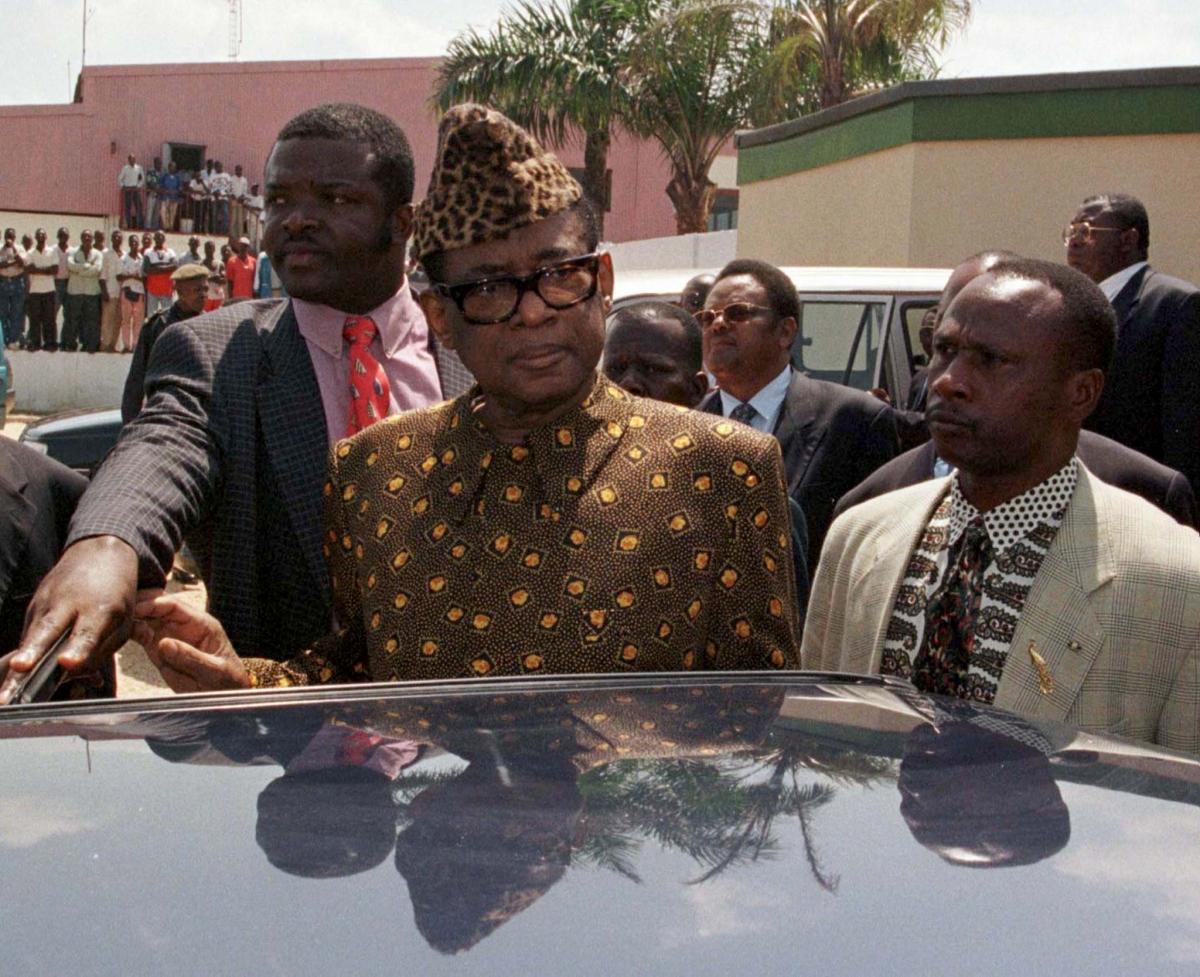 Mobutu Sese Seko DR Congo