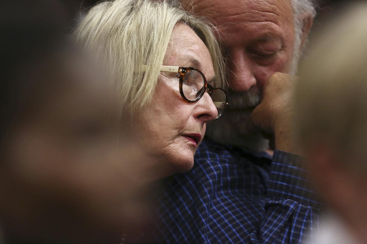 Reeva Steenkamp's parents