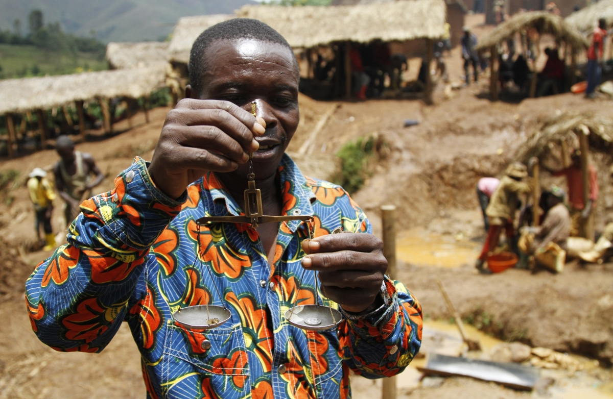 DR Congo Gold Mines