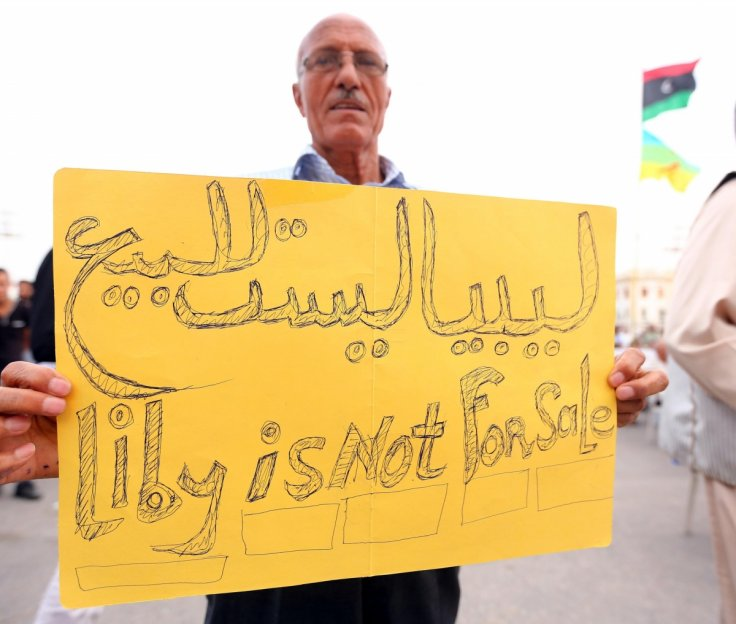 Libya is not for sale