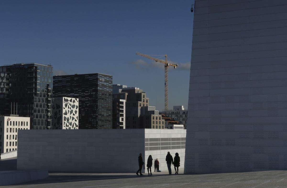Crane over Oslo
