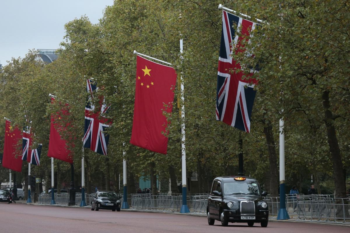 President Xi Jinping arrives in London