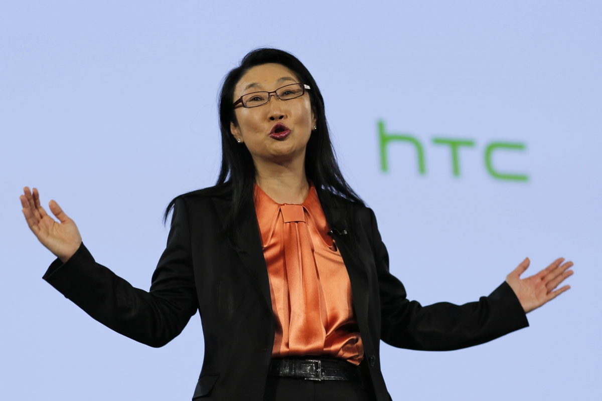 HTC chairwoman Cher Wang