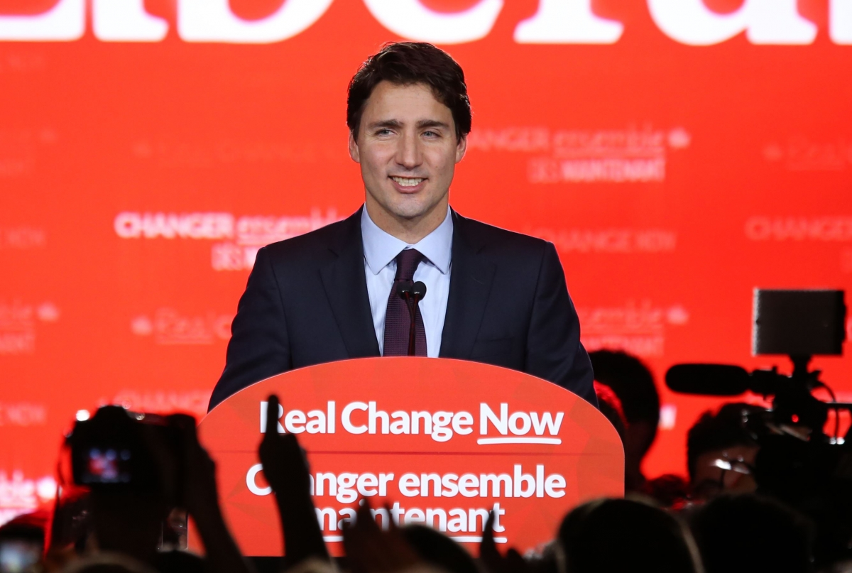 Canada elections Justin Trudeau