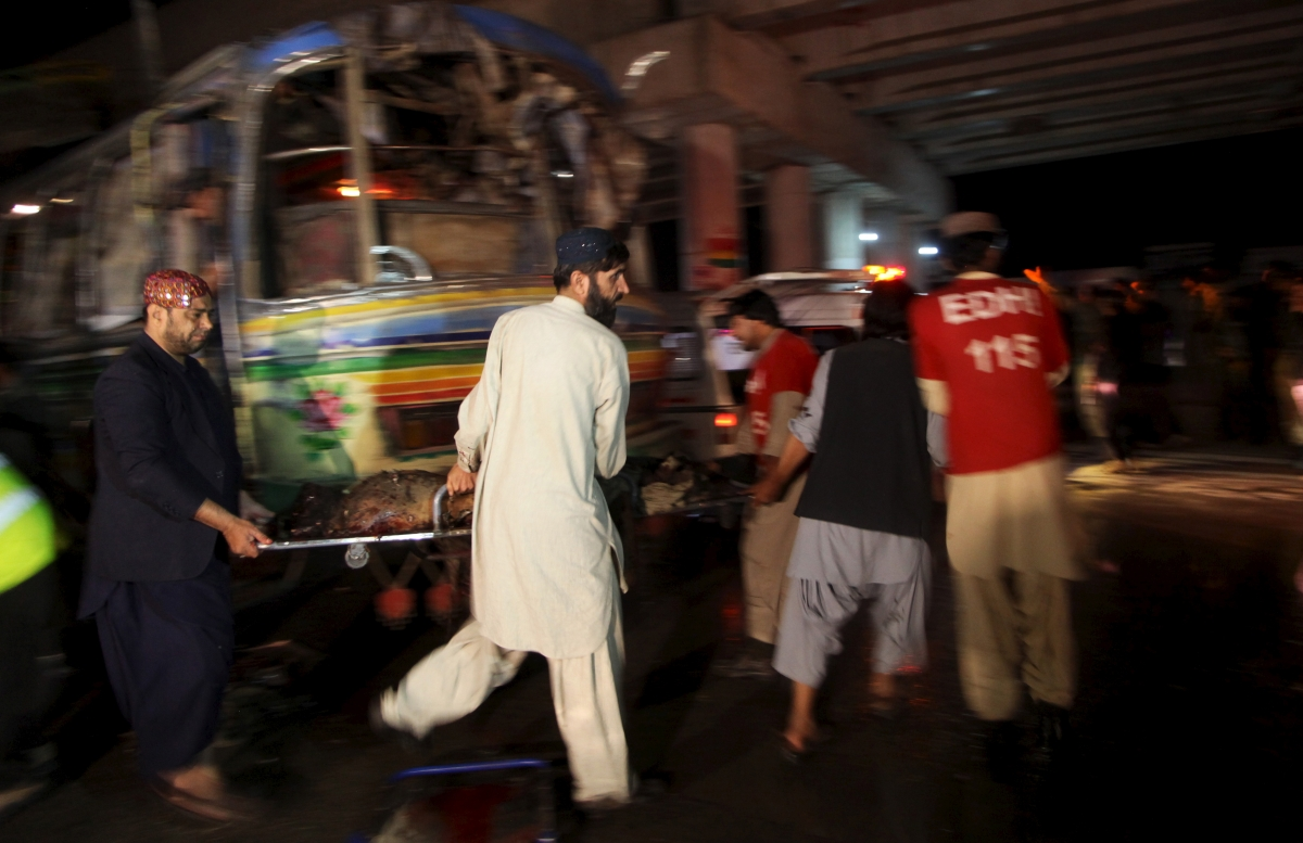 Pakistan Quetta bus attack