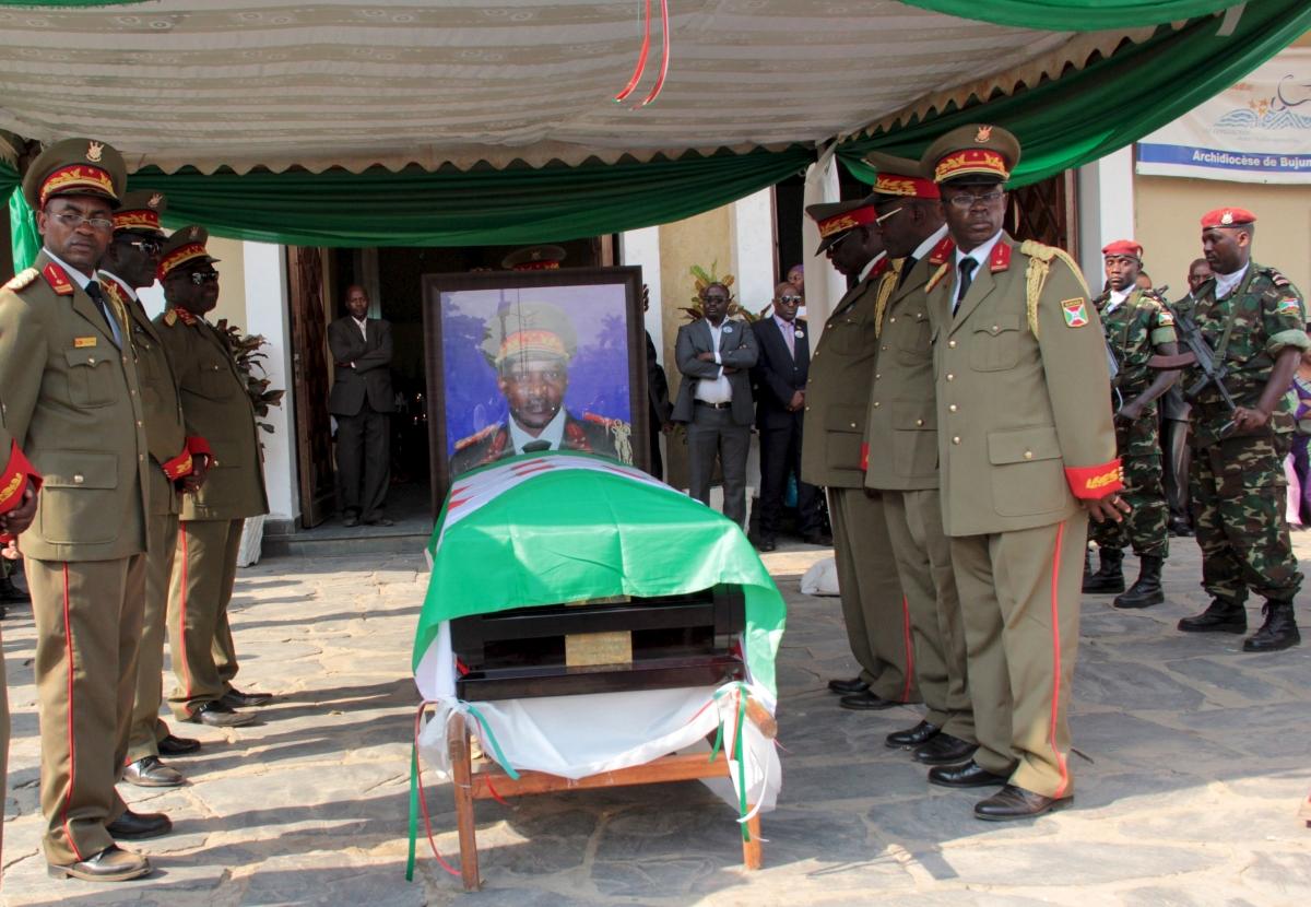 Burundi General Adolphe Nshimirimana