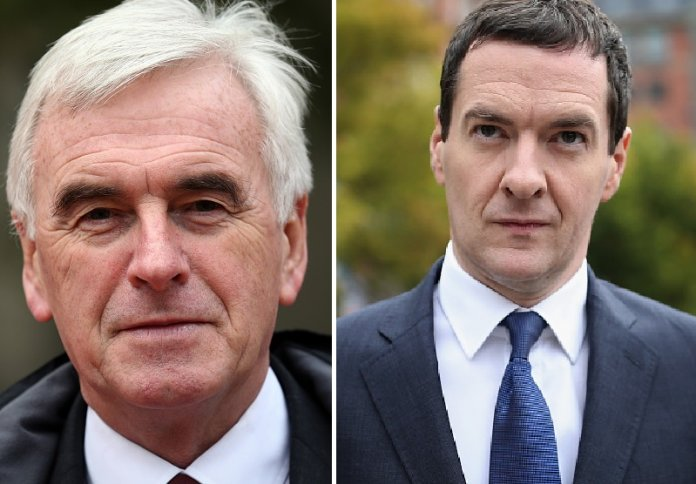 John McDonnell and George Osborne